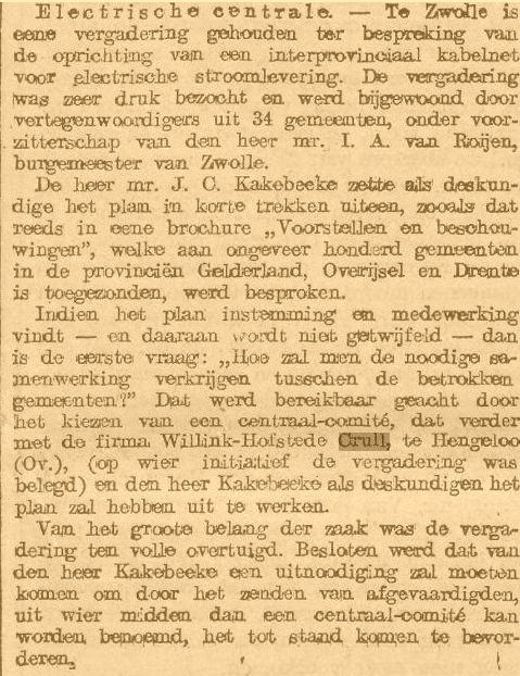 Interprovinciale Kabelmaatschappij (1910)