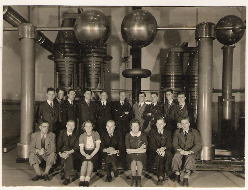 Laboratoriumpersoneel Hazemeyer 1942/1943