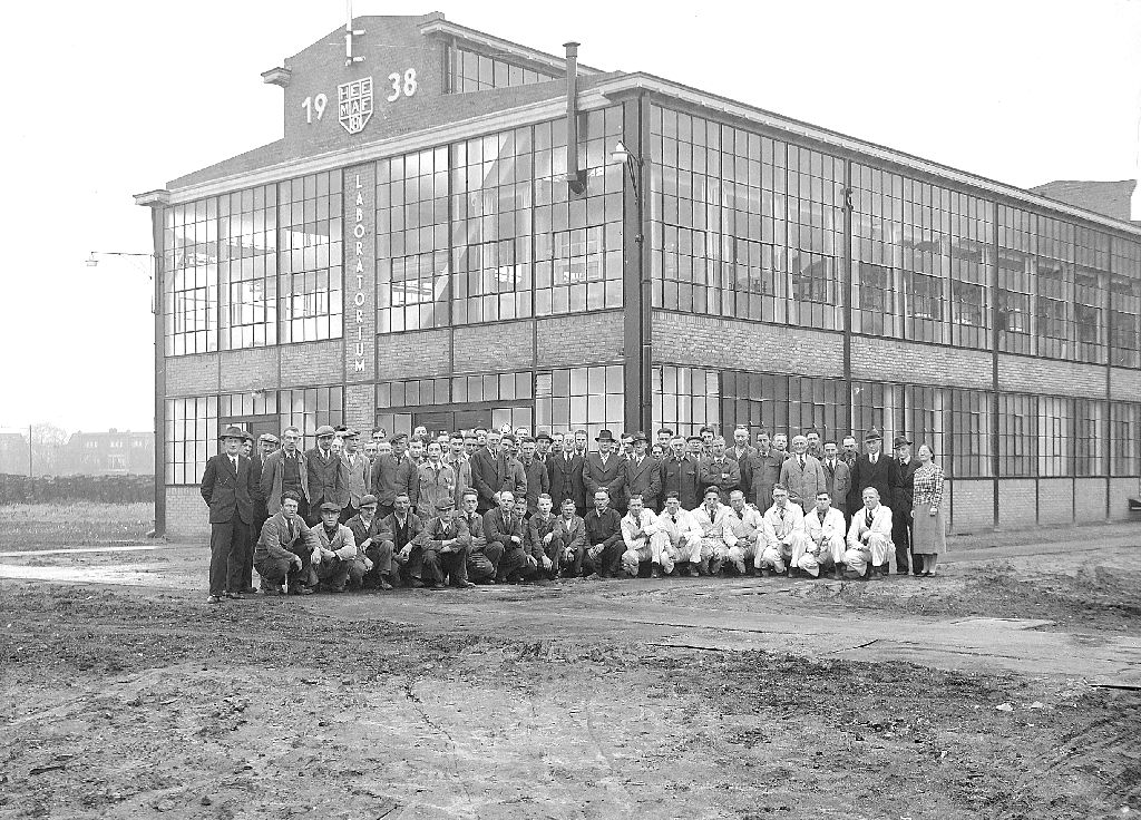 Heemaf laboratorium 1938
