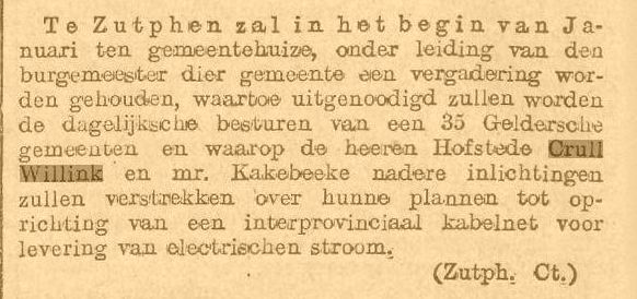 Interprovinciale Kabelmaatschappij (1909)