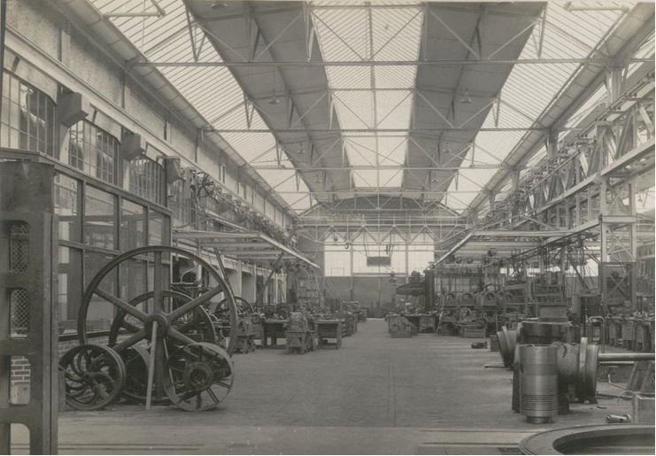 In the new Thomassen factory 1926